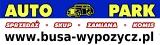Logo * AUTO PARK *  KOMIS - WYPOŻYCZALNIA BUSÓW, PRZYCZEP i LAWET - PARKING !