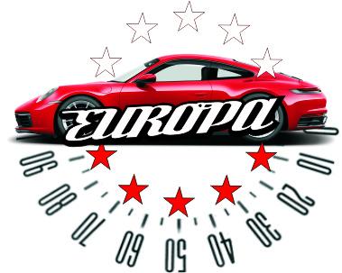 """Logo AUTO KOMIS """"EUROPA"""" ponad 20 lat doświadczenia"""