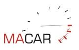"""Logo """" MACAR """" sprawdzone samochody z gwarancja"""
