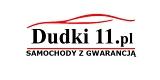 """Logo """"DUDKI 11"""" - DEALER SAMOCHODÓW UŻYWANYCH - """"SAMOCHODY Z GWARANCJĄ"""" - """"VIP GWARAN"""