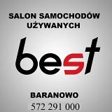 """Logo Salon Samochodów Używanych  """"BEST"""""""