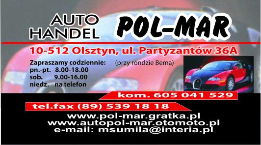Logo POL-MAR P.H.U. Iwona Sumiła