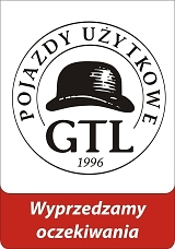 Logo GTL Pojazdy Użytkowe filia Kutno