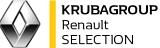 Logo RENAULT KRUBAGROUP Koncesjoner Renault i Dacia