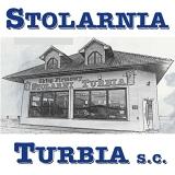 """Logo """"Stolarnia Turbia"""" s.c. Krzysztof Nowak, Anna Przybylska"""