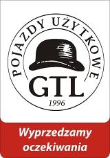 Logo GTL Pojazdy Użytkowe - największy w Polsce importer pojazdów ciężarowych.