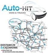 """Logo """"Auto-HIT"""" DOSTAWCZE I CIĘŻAROWE. FIRMA przy E10 (TRASA Piła-Bydgoszcz)"""