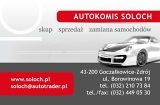 Logo AUTOKOMIS SOLOCH     www.SOLOCH.pl