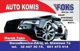 "Logo AUTO KOMIS ""FOKS"""
