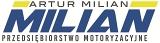 "Logo P.M.""MILIAN"""