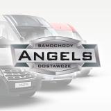 Logo ANGELS Vans Center #dealer nr1  SAMOCHODY DOSTAWCZE z certyfikatem przebiegu ☑